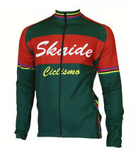 Cycling Jersey Skaide Ciclismo Green Long Sleeve