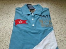 HK 7 Ladies Rugby top, Polo,, T shirt, S/S Holiday top Bargain Cheap + Free P+P
