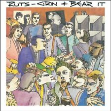 THE RUTS - GRIN AND BEAR IT - NEW CD ALBUM