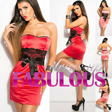 NEW SEXY 6 8 10 12 WOMEN'S DRESS HOT PARTY FORMAL CLUBBING EVENING WEAR CLOTHING