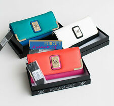 BNWT Kardashian Kollection RRP$49.99 Wallet Clutch in Gift Box Blue Pink White