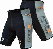 RDX Neoprene ShortsThermal Compression Sauna Suit Weight Loss MMA Mens Pant US