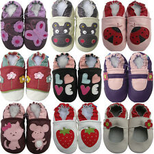 carozoo baby girl prewalk shoes up to 7-8 years soft sole leather slippers