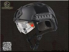Military Tactical Gear Paintball Climbing Protective Combat Fast Helmet & Goggle