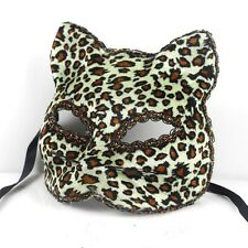 Broadway coquettish feeling cat's face makes full face dancing part mask 17