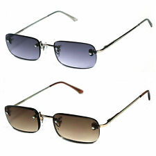 Men Women Rimless Spring Metal Temple Sun Reader Reading Glasses - SR15