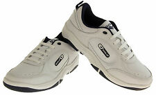 Mens LEATHER GOLA Lace Up Casual Pumps Athletic Fashion Shoe Trainers Size 10 11