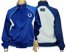 G-III Sports Indianapolis Colts NFL Womens Players Zip Up Soft Jacket, Blue