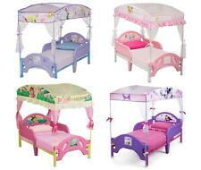 TODDLER BED WITH CANOPY BED TENT - MULTIPLE CHOICE