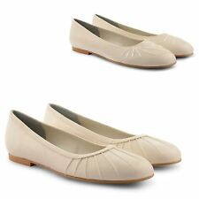 NEW LADIES CASUAL FLAT BALLERINA BALLET PUMPS DOLLY LOAFER SHOES UK SIZE 3-8