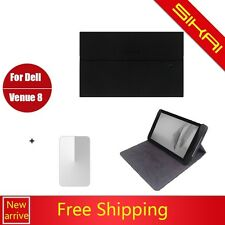 New original stand Folio Leather Case Cover For Dell Venue 8 Android 8'' Tablet
