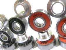 ABEC 9 & 11 BEARINGS & BEST QUALITY ALLOY SPACERS FOR SKATEBOARD SCOOTER INLINE
