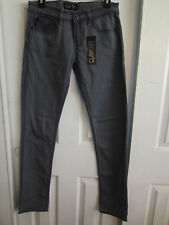 GLAM CITY ROCKERS SMOKE GREY WASH JEANS DIFFERENT SIZES TO CHOOSE FROM