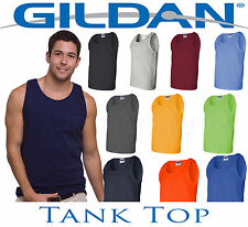 Tank Tops Shirt Lot Colors S to XL  Bulk Wholesale Men's Plain Blank Sleeveless