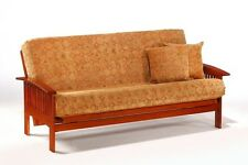 Futon Frame- Solid Wood RUSKIN Futon Sofa Bed Frame- FULL or QUEEN size