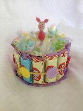 Mother's Day Birthday Disney Winnie-the-Pooh Chocolate Candy Gift Cake Favor