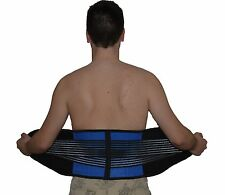 power lower back support belt double pull lumber brace pain relief