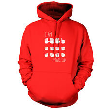 I Am 16 Years Old (Hands) - Unisex Hoodie - 9 Colours - 16th Birthday - Present