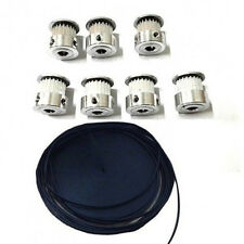 5 Meters GT2 Timing Belt 5M + 5pcs GT2 20 Tooth Timing Pulley for 3D printer CNC