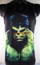 JA509 NWT Black Tank Top  Dress Sleeveless Big Hulk Shirt Tommy Mens Vest