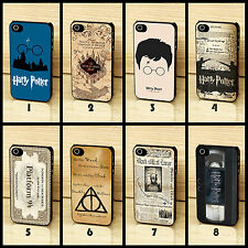 Harry Potter Marauders Map Rubber Hard Phone Case Cover For iPhone 4 4s 5 5s 5c