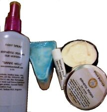 Body Butter, Spray & Bar Soap Set + Perfume Stick Designer Types - U Pick Scent