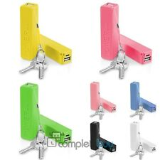 Power Bank External Portable 2600 mAh USB Battery Charger For iPhone Samsung HTC