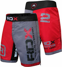 RDX Shorts Grappling Short Kick Boxing Mens Muay MMA UFC Thai Pants Gym Wear US