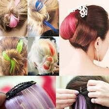 Highlights Colorful Hair Extensions Clip In Synthetic Hair Cosplay Ombre