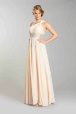 One Shoulder Sequins Pleated Bust Floor Length Gown Plus Sizes Prom Dress Modest
