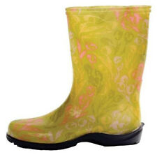 Sloggers Womens MADE IN USA Comfortable Waterproof Garden Rain Boots [ Green ]