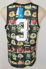 NWT ADIDAS ORIGINALS SUPERSTAR AOP HEEL RETRO TANK  TOP JERSEY SIZE M L XL