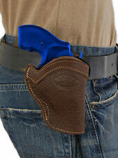 """NEW Barsony Brown Leather Western Style Holster for S&W 22 38 357 Snub Nose 2"""""""