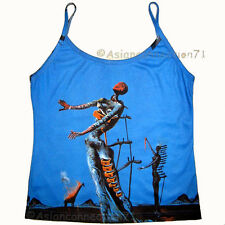 Salvador DALI BURNING GIRAFFE Art Shirt Singlet TANK TOP Misses S M L XL New PN
