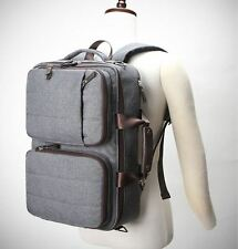 4-Way Fashion Backpack Rucksack Bookbag Briefcase Men Women Campus Office 1