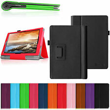 For Lenovo Yoga 10 & Yoga 10 HD+ 10.1 inch Tablet Folio Stand Leather Cover Case