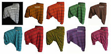 INDIAN ALI BABA HAREM YOGA MEN WOMEN TROUSER BAGGY GYPSY BOHO HIPPIE OM PANTS