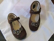 Stride Rite Toddler Girl Girls Kennedy Mary Jane Dress Shoes Brown Leather Shoe