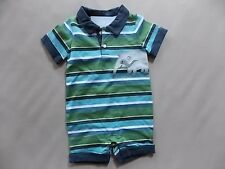 NWT Boy's Gymboree Anteater Pal shirt shorts one piece outfit ~ 6 12 18 months