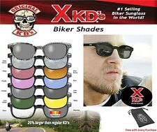 X - KD's 1011 Day2Nite Changing Lens XKD Biker Sunglasses ASOTV Sons of Anarchy
