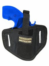 "New Barsony 6 Position Ambidextrous Pancake Holster for Colt 2"" Snub Nose Rev"