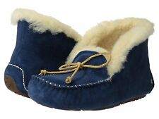 Women's Shoes UGG Australia Alena Moccasin Slippers 1004806 Midnight *New*