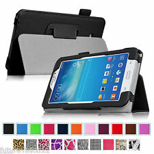 For Samsung Galaxy Tab 3 Lite 7.0 7 inch Tablet Leather Case Cover Stand 2014