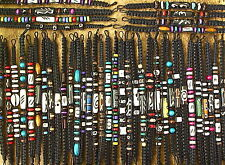 ETHNIC TRIBAL SURFER BEAD BRACELETS=MANY CHOICES=£2.25 each /any 3 for £5.00