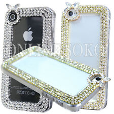 3D LUXURY Crystal Diamond Bling Case Hard Cover for Apple iPhone Samsung Galaxy
