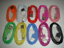 8 Pin USB Data Sync Charger Cable Cord for iPhone 5 5S  iPod ios7 ipod 1m/3ft