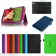 For LG G PAD 8.3 Inch Tablet Verizon 4G Leather Cover Case + Bluetooth Keyboard