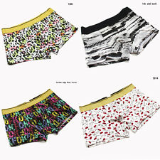Mens Underwears Fashion Sexy Boxers Cotton Beach Mens Underpants Size L XL XXL