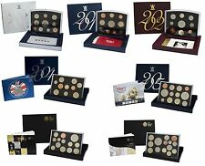ROYAL MINT FLAT DELUXE PROOF SETS 2000 TO 2011