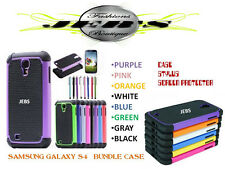 Samsung Galaxy S4  Heavy Duty Hard Case Cover + Screen Protector + Stylus Pen